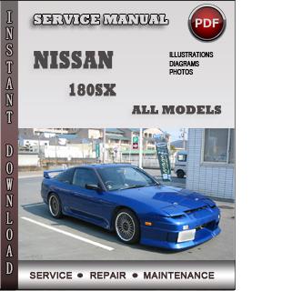 nissan 180sx repair pdf