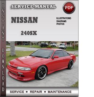 nissan 240sx repair manual pdf