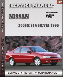 1995 Nissan 200SX Silvia Service Manual