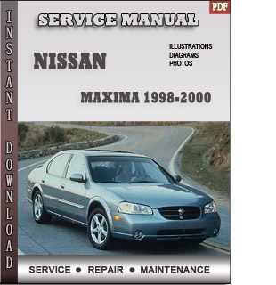 1998 1999 2000 Nissan Maxima Service Repair Manual