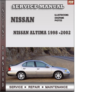 1998 1999 2000 Nissan Altima manual
