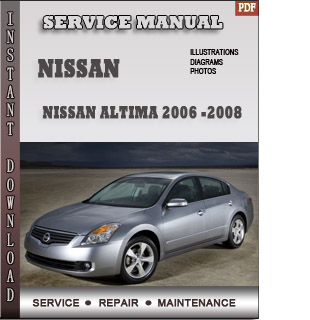 2006 2007 2008 Nissan Altima free pdf download