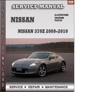 2009 Nissan 370z Repair Manual
