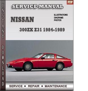 Nissan 300ZX Z31 Factory Service Manual