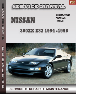 1994 1995 1996 nissan 300zx z32 service repair manual. Black Bedroom Furniture Sets. Home Design Ideas