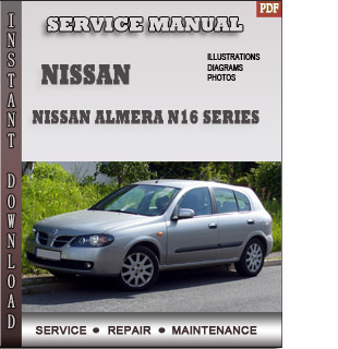 Nissan Almera N16 manual free pdf download