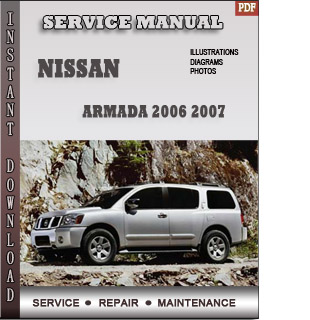 Nissan Armada 2006 2007 Manual