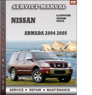 Nissan Armada manual 2004 2005