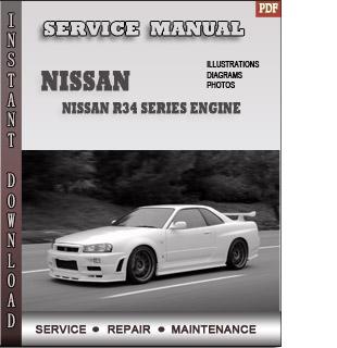 Nissan R34 Series engine manual pdf