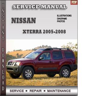 Nissan Xterra 2007 2008 repair manual