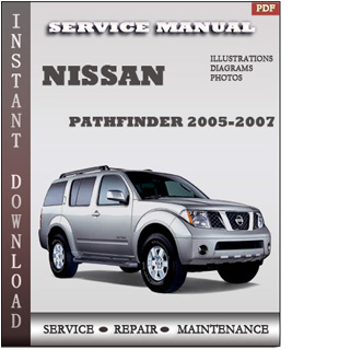 service and repair manuals 2005 nissan pathfinder. Black Bedroom Furniture Sets. Home Design Ideas