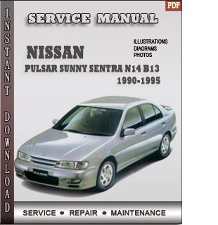 Pulsar Sunny Sentra N14 B13 manual pdf