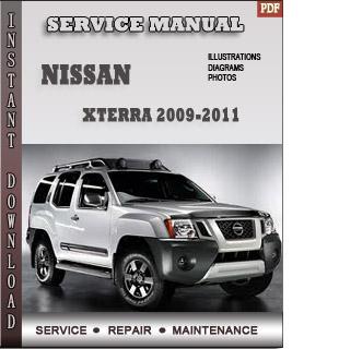 Xterra 2009 2010 manual pdf