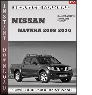 navara 2009 2010 manual