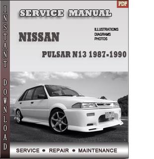 pulsar 1987 1989 1990 manual pdf