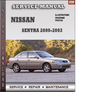 sentra 2000 2001 2002 manual pdf