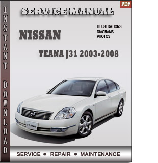 teana 2003 2004 2005 manual pdf