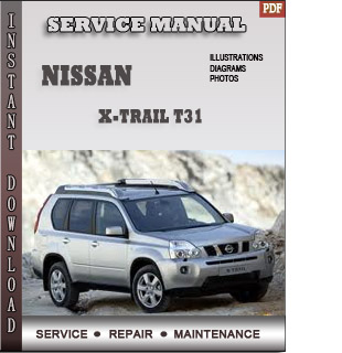 Nissan X-trail T31 manual pdf