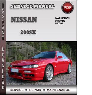 nissan 200sx repair pdf