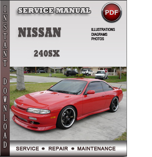 nissan 240sx repair manual pdf