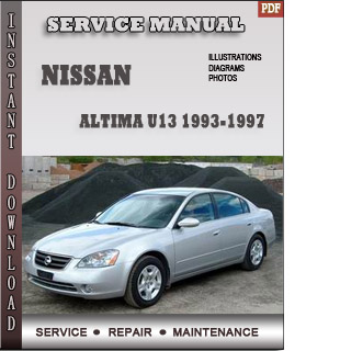 1993 1994 1995  Nissan Altima manual free pdf download