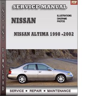 1998 2002 Nissan Altima Service Repair Manual border=