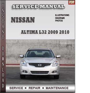 2009 2010  Altima manual free pdf download