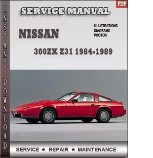Nissan 300ZX Z31 Factory Service Manual