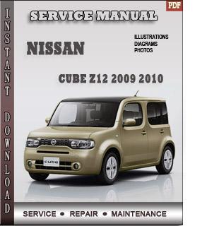 Nissan Cube 2009 2010