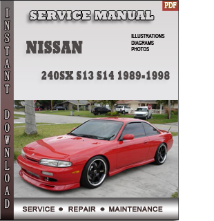 nissan 240SX service repair manual