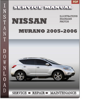 2005 2006 murano nissan service repair