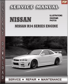 Nissan R34 Series engine manual pdf