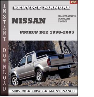 Pickup D22 service manual pdf