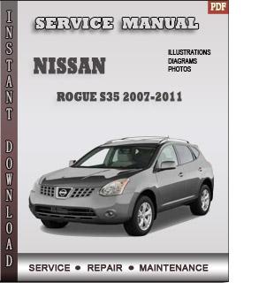 Rogue S35 2007 2008 2009 manual pdf