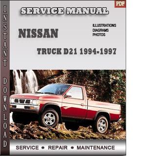 Truck D21 1994 1997 nissan pdf