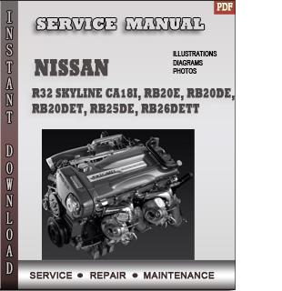 nissan R32 Skyline engine manual pdf