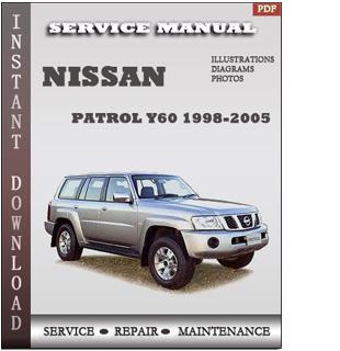 nissan patrol service manual pdf