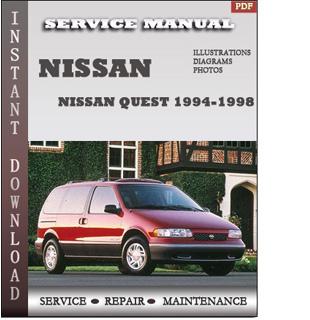 quest nissan 1994 1995 1996 1997 pdf
