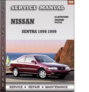 1998 1999 Nissan Sentra B14 Service Repair Manual border=
