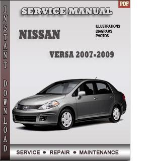 versa 2007 2008 2009 manual pdf