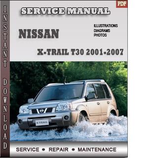X-trail T30 2002 2003 2004 manual pdf
